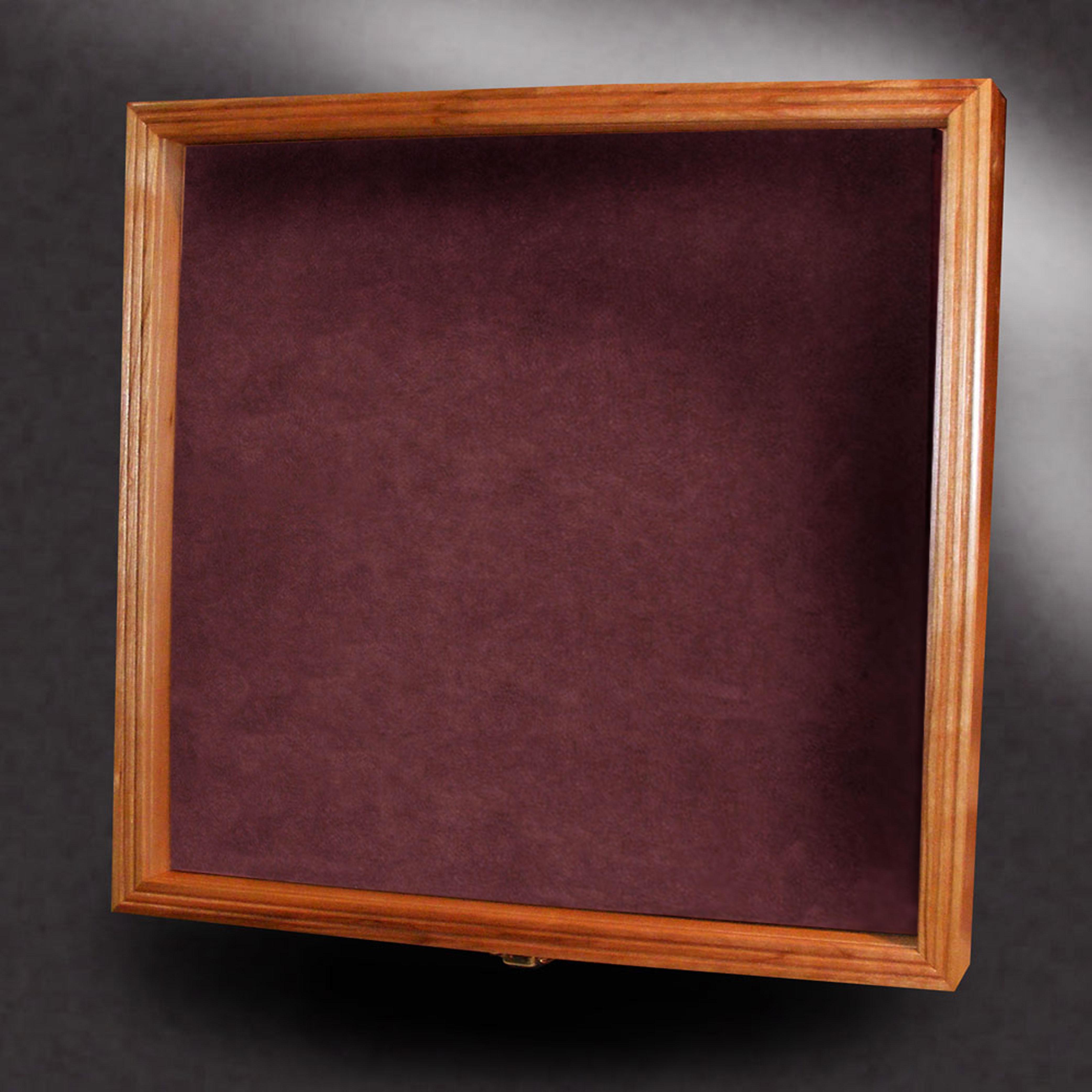 16x16 Wood Shadow Box Greg Seitz Woodworking