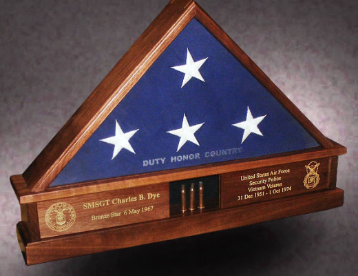 flag display cases archives - greg seitz woodworking