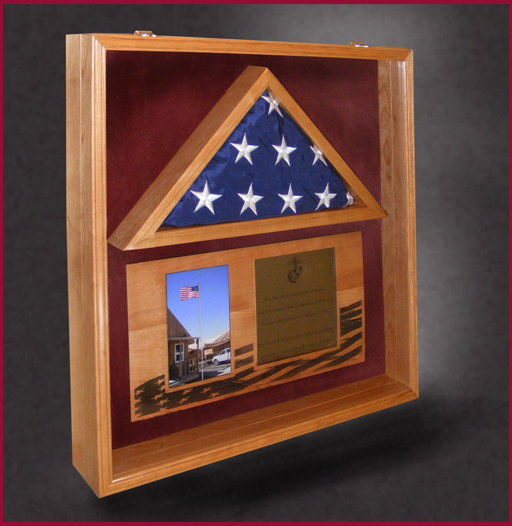 Domestic Hardwoods For Wood Flag Boxes And Shadow Boxes