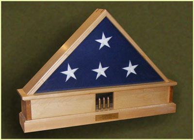 Flag Display Case Greg Seitz Woodworking
