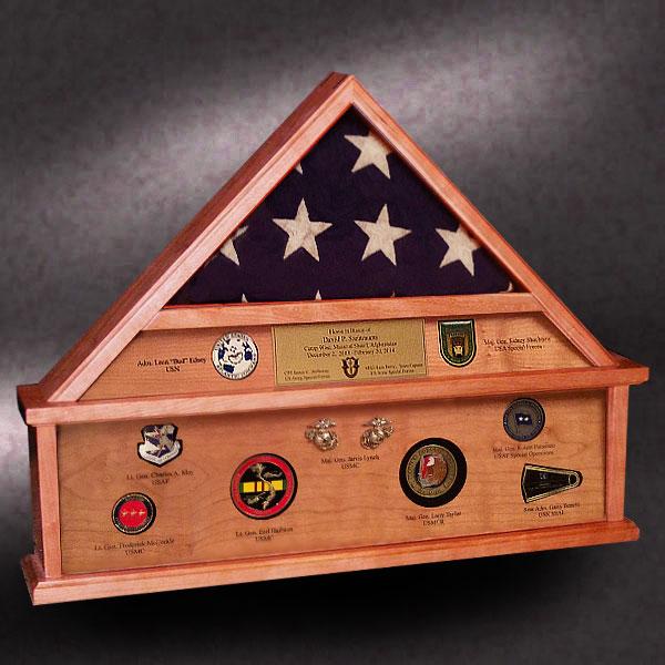 3x5 cherry flag box
