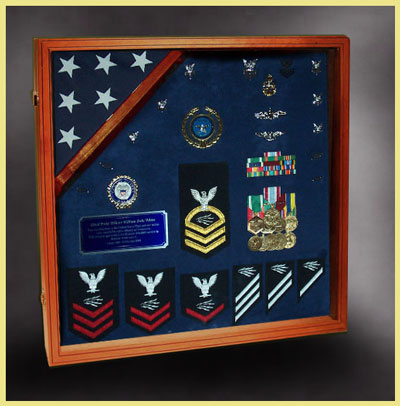 Military Retirements ...  sc 1 st  Custom Wood Shadow Boxes and Flag Display Cases & Military Shadow Boxes for Retirements Aboutintivar.Com