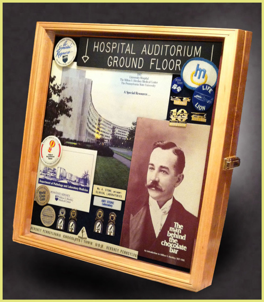 Retirement shadow boxes for police firefighter and emt shadow jeuxipadfo Choice Image