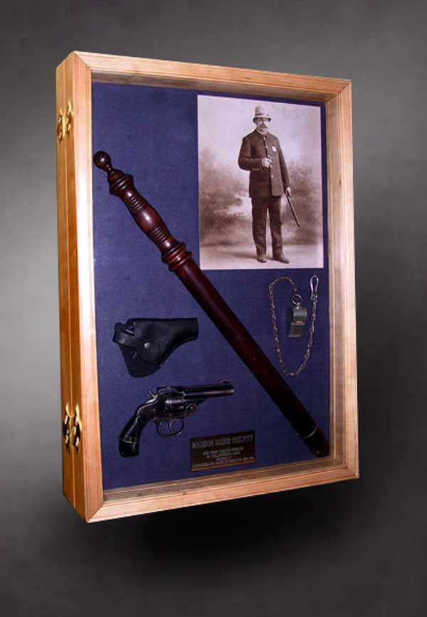 Retirement Shadow Boxes for Police, Firefighter and EMT