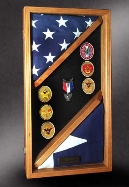 Shadow Boxes For Military Retirements Made In The U S A
