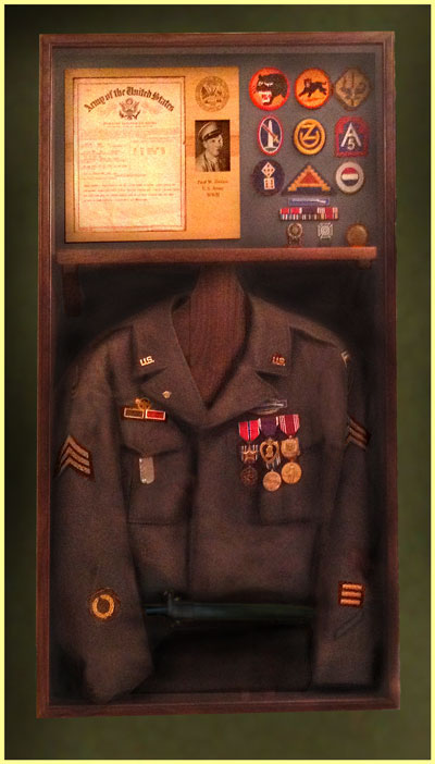 Customized Shadow Boxes And Flag Cases