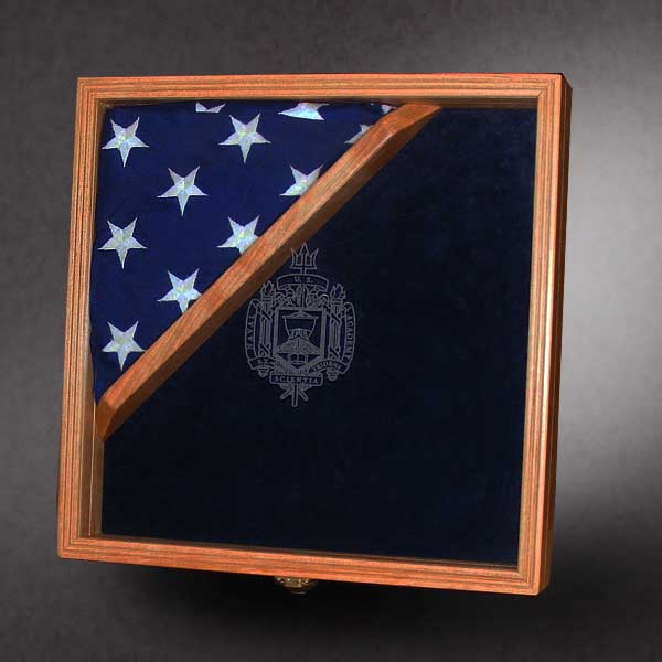 Glass Etching For Flag Cases And Shadow Boxes