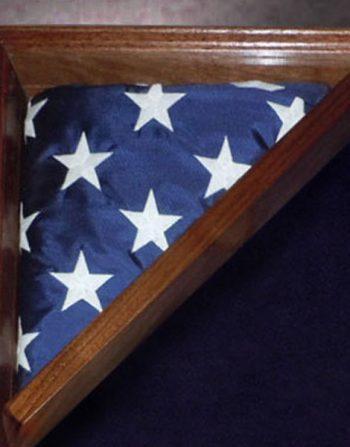 flag frame for shadow box
