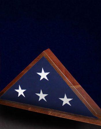 5x9 bottom center flag frame