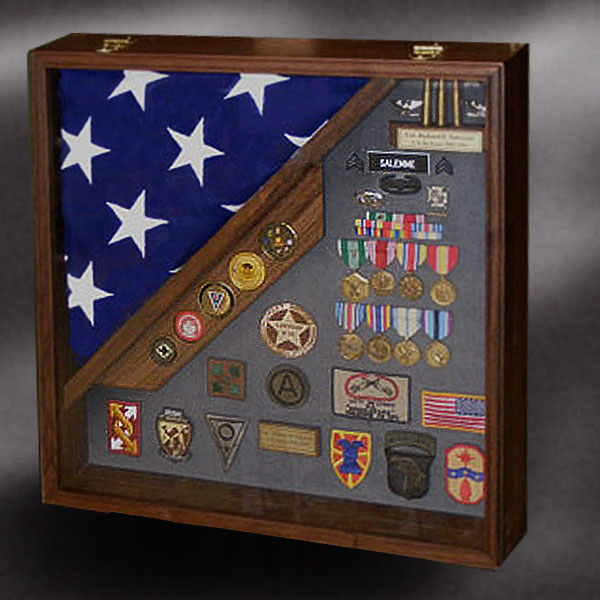 24x24 Shadow Box For 5x9 Flag By Greg Seitz Wood Working