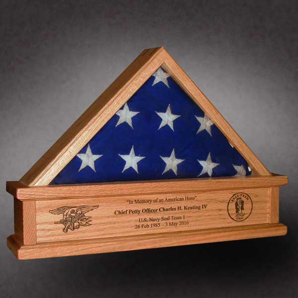3x5 Hollow Bottom Flag Cases Are Made In The U S A