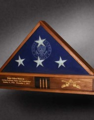 Memorial Flag Case for Cavalry