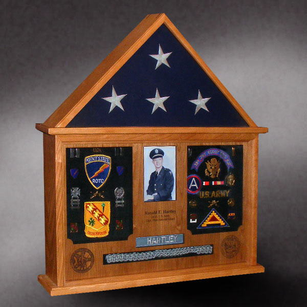 Dog House Flag Display Case By Greg Seitz Woodworking