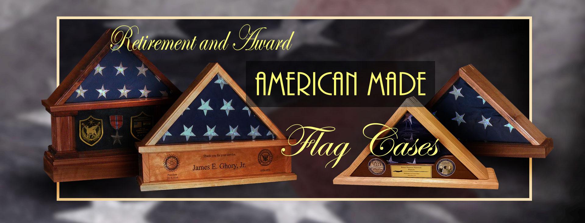 retirement flag boxes