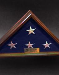 5×9 Standard Walnut Flag Case