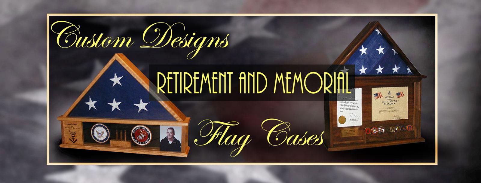 military retirement flag cases