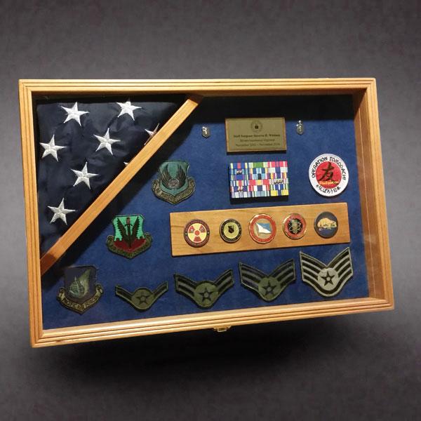 Military Shadow Box