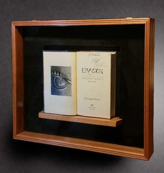 Cherry Display Box for First Edition Books