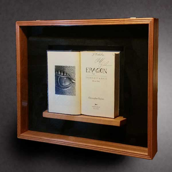 Old Book Display Case ~ Shadow box by greg seitz woodworking