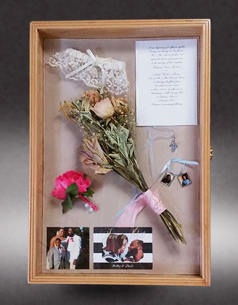 wedding-shadow-box - Greg Seitz Woodworking